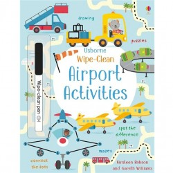 EDC Wipe Clean Activity Books - Airport