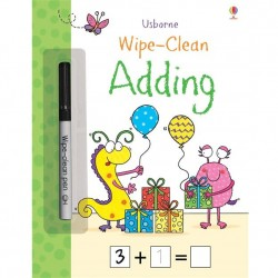 EDC Wipe Clean Activity Books - Adding