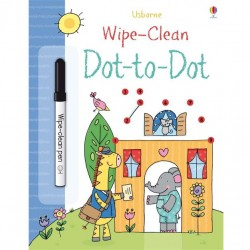 EDC Wipe Clean Activity Books - Dot to Dot