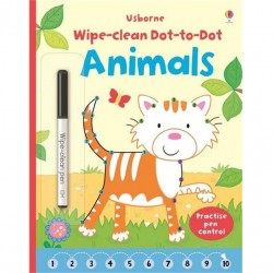EDC Wipe Clean Activity Books - Animals