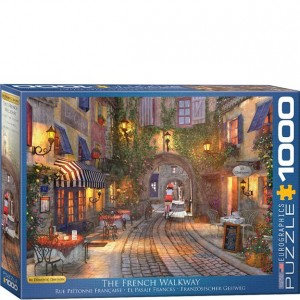 Eurographics Puzzle - 1000 pc French Walkway