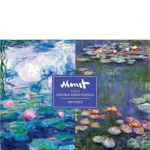 Gallison 500 pc Puzzle - Double Sided Monet