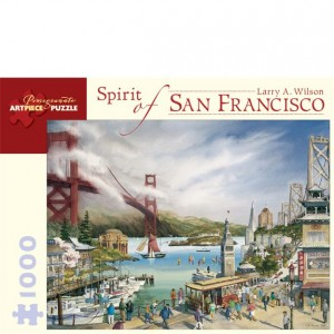 Pomegranate 1000 PC Puzzle - Spirit of San Francisco