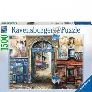 Ravensburger 1500 PC Puzzle - Passage to Paris