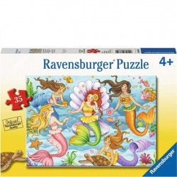 Ravensburger 35 PC Puzzle - Queens of the Ocean