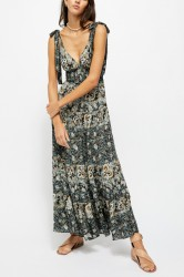 Free People Let's Smock About It Dress - Black