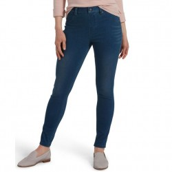 Hue High Waist Ultra Soft Denim Legging- Windsor Blue Wash