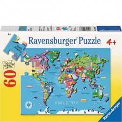 Ravensburger 60 PC Puzzle - World Map