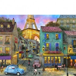 Springbok 36 pc Puzzle - Eiffel Magic