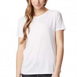 Columbia Essential Elements Comfort Stretch Ladder Back T-Shirt - White