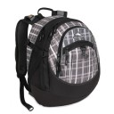"High Sierra ""Fat Boy"" Backpack - 13 Black Plaid"