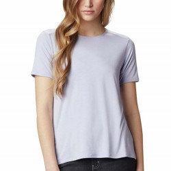 Columbia Essential Elements Comfort Stretch Ladder Back T-Shirt - Twilight