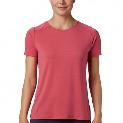 Columbia Essential Elements Comfort Stretch Ladder Back T-Shirt - Rouge Pink