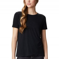 Columbia Essential Elements Comfort Stretch Ladder Back T-Shirt - Black