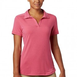 Columbia Essential Elements Polo Shirt - Rouge Pink