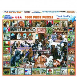 White Mountain 1000 pc Puzzle - World of Dogs