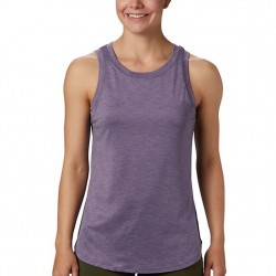 Columbia Place To Place Omni Wick Tank Top - Plum Purple
