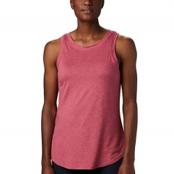 Columbia Place To Place Omni Wick Tank Top - Rouge Pink
