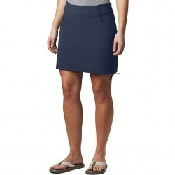 Columbia Anytime Casual Stretch Nylon Cinch Side Skort - Nocturnal