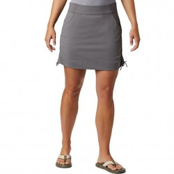 Columbia Anytime Casual Stretch Nylon Cinch Side Skort - City Grey
