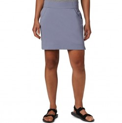 Columbia Anytime Casual Stretch Nylon Straight Skort - New Moon
