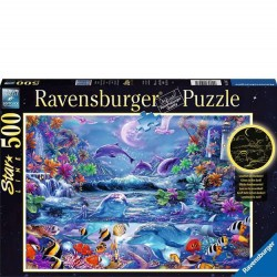 Ravensburger 500 PC Puzzle - Moonlit Magic Glow in the Dark