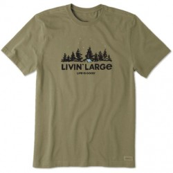 Life is Good T-Shirt - Livin Large Camp