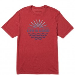 Life is Good T-Shirt - Sun and Sea
