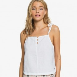 ROXY Live Lovely Strappy Top - Sea Salt