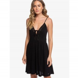 ROXY Little Something Love Dress - Anthracite