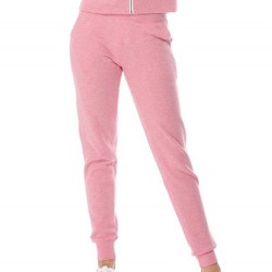 Fleece Jogger Sweatpants with Pockets - Strawberry