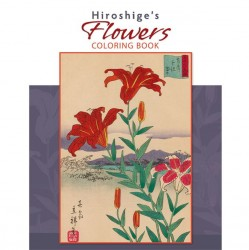 Pomegranate Coloring Book - Hiroshige's Flowers