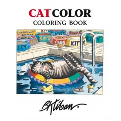 Pomegranate Coloring Book - Cat Color