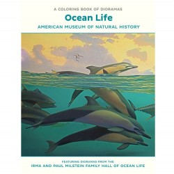 Pomegranate Coloring Book - Ocean Life Dioramas