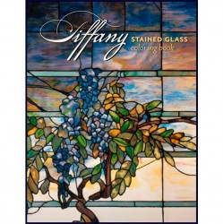 Coloring Book - Tiffany Stained Glass