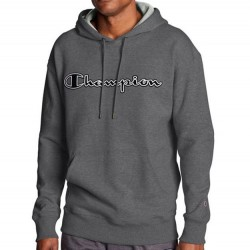 Champion Hooded Sweatshirt - Granite