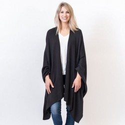 Organic Cotton Travel Wrap - Black