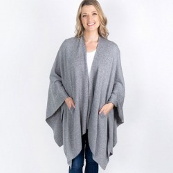 Organic Cotton Travel Wrap - Grey