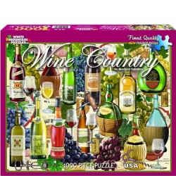 White Mountain 1000 pc Puzzle - Wine Country