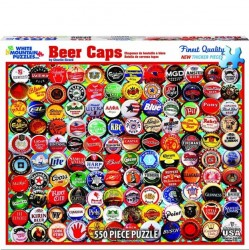 White Mountain 550 pc Puzzle - Beer Bottle Caps