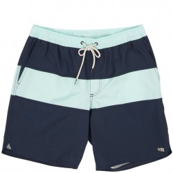 Salty Crew Swim Trunk with Stretch - Navy Color Block