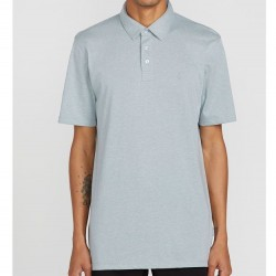 Modern Fit Polo Shirt - Cool Blue Heather