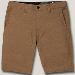 Recycled Hybrid Short with Stretch - Vintage Brown