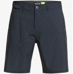 Recycled Hybrid Short with Stretch - Black Heather