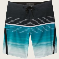 Boardshort with Stretch - 2 Tone in Ocean