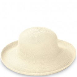 "Wallaroo Victoria 3 1/2"" Brim Packable Hat - Natural"