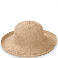 "Wallaroo Victoria 3 1/2"" Brim Packable Hat - Tan"
