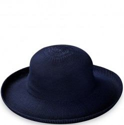 "Wallaroo Victoria 3 1/2"" Brim Packable Hat - French Navy"