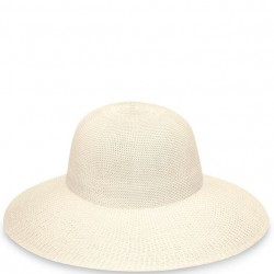 "Wallaroo Victoria Diva 4 1/2"" Brim Packable Hat - Natural"