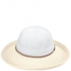 Wallaroo Victoria Two-Toned Hat - White/Natural